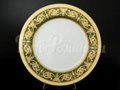 """Блюдо круглое 32 см """"Imperial Green Gold"""""""