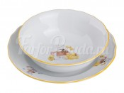 "Набор посуды ""Игрушки"":тарелка+миска диаметр 17/14 см."