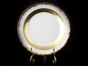 "Набор тарелок ""Лента золотая 857"" 17см. 6шт."