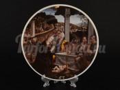 Тарелка декоративная настенная U004211