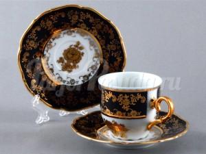 "Набор для чая ""Роза золотая ОФ677/Г""(чашка+блюдце)110мл. на 6перс.12пред."