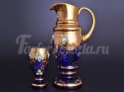 Набор для воды арабский 7 пр Лепка синяя B-P