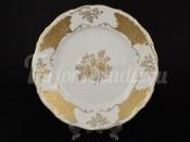 """Набор тарелок 25 см """"Лист Кленовый Белый"""" 6 шт"""