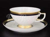 Набор чайных пар 6/6 9030 Cobalt Gold