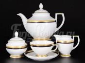 Сервиз чайный на 6 персон 15 пр. Cobalt Gold