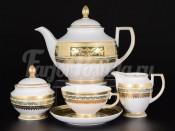 Сервиз чайный на 6 персон 15 пр. Diadem Green Mint