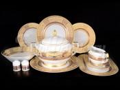 Сервиз столовый  на 6 персон 26 пр. Diadem Violet Creme Gold