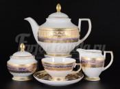 Сервиз чайный  на 6 персон 15 пр. Diadem Violet Creme Gold