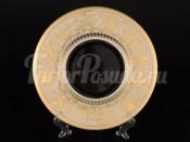 Набор тарелок 27 см  6/1 Hormony Creme/Black