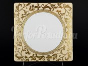 Набор тарелок 27 см 6/1 Tosca Creme Gold