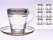 "Набор для чая ""Панто""(чашка+блюдце) на 6перс. 12пред."