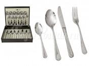 """Набор столовых приборов 24 предмета на 6 персон """"Santorini"""" в деревянной коробке"""