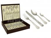 """Набор столовых приборов 24 предмета на 6 персон """"Queen"""" в деревянной коробке"""
