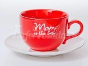 "Набор для чая ""Вехтерсбах-Mom is the best"" (чашка+блюдце)"
