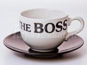 """Набор для чая  500 мл. """"Вехтерсбах-The Boss white"""" (чашка+блюдце)"""