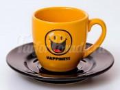"Набор для эспрессо ""Вехтерсбах-Smiley Best Friends""  (чашка+блюдце)"