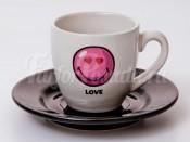 "Набор для эспрессо ""Вехтерсбах-Smiley Love""  (чашка+блюдце)"