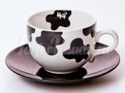 """Набор для чая """"Вехтерсбах-Cow skin"""" (чашка+блюдце)"""