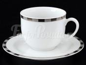 """Набор для кофе """"Платиновые пластинки Опал"""" 135 мм"""