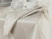 PRETTY NAPKIN Natural/Naturel/Льняной, Набор салфеток 45х45 (6 шт), 40% полиэстер 40% хлопок 20% лён