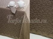 SIMONA Brown/Kahve/Коричневый, Скатерть 160х220, 50% п/э 50% хлопок
