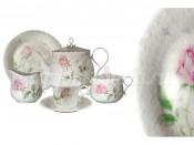 Чайный сервиз 41 предмет на 12 персон Апрельская роза