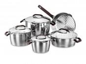 A1050 Esta Cookware Set набор кастрюль со сковородой 9 пр.: 2,0л/3,7л/6,3л/3,6л/2,7л.