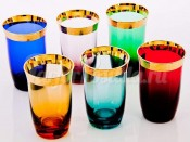 "Набор стаканов 250 мл 6 шт ""Джесси колорс 43075"""
