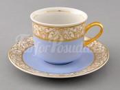 Чашка высокая с блюдцем 0,20л 02120415-234I