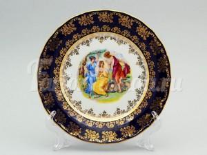 "Набор тарелок ""Мадонна кобальт ОФ707"" 19см. 6шт."