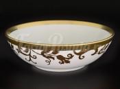 """Набор салатниц 19 см """"Tosca White Gold"""" 6 шт."""