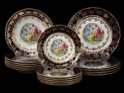 "Набор тарелок для сервировки стола ""Мадонна кобальт ОФ707"" 18шт."