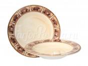 """Набор тарелок:суповая и обеденная """"Натюрморт"""""""