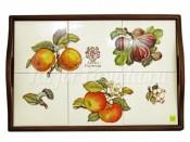 Поднос Античные фрукты 48х33 см
