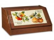Хлебница Итальянские фрукты 39х30х18см