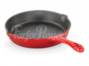 Сковорода чугун эмаль и PTF покрытие 16см Casterra Frypan