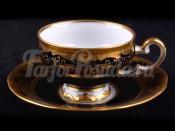 """Набор для кофе мокко """"Симфония кобальт 8012""""(чашка100мл.+блюдце) на 6перс.12пред."""