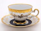 "Набор для чая ""Анна Амалия 820""(чашка210мл.+блюдце) на 6перс.12пред."