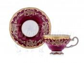 """Набор для чая """"Декор 876/1""""(чашка210мл.+блюдце) на 6перс.12пред."""