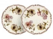 """Набор из 2-х десертных тарелок """"Сады Флоренции"""" 20,5 см"""