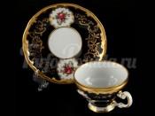 """Набор для чая """"С.Петербург 866""""(чашка160мл.+блюдце) на 6перс.12пред."""
