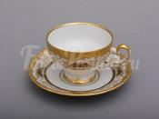 """Набор для чая """"Симфония золотая 427""""(чашка160мл.+блюдце) на 6перс.12пред."""