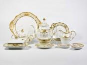 """Сервиз чайный """"Симфония золотая 427"""" на 12перс.54пред."""
