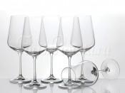"Набор бокалов для вина из 6 шт.""сандра"" 450 мл.  Crystalex"