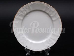 """Набор пирожковых  тарелок 17 см 6 шт. """"Бернадотте белый""""."""