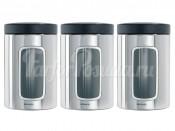 247286 Набор контейнеров с окном 3 пред. 1,4 л