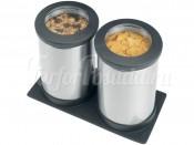 416064 Набор контейнеров для сыпучих 2 пред. 1,2 л