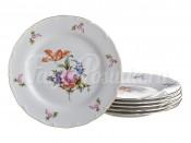 """Набор закусочных тарелок 21 см 6 шт. """"Полевой цветок"""" ОФ512"""
