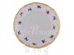 "Набор тарелок ""Мейсенский цветок 1016"" 24см. 6шт. глубокая"
