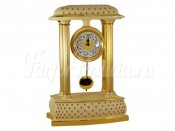 "Часы настольные 52 см ""Murano Cream Gold"""